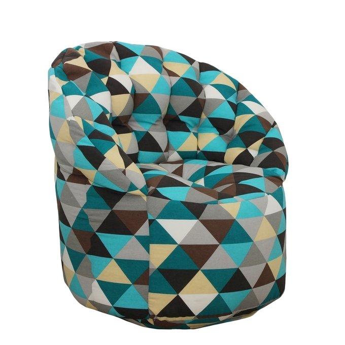 Кресло- пуф со спинкой