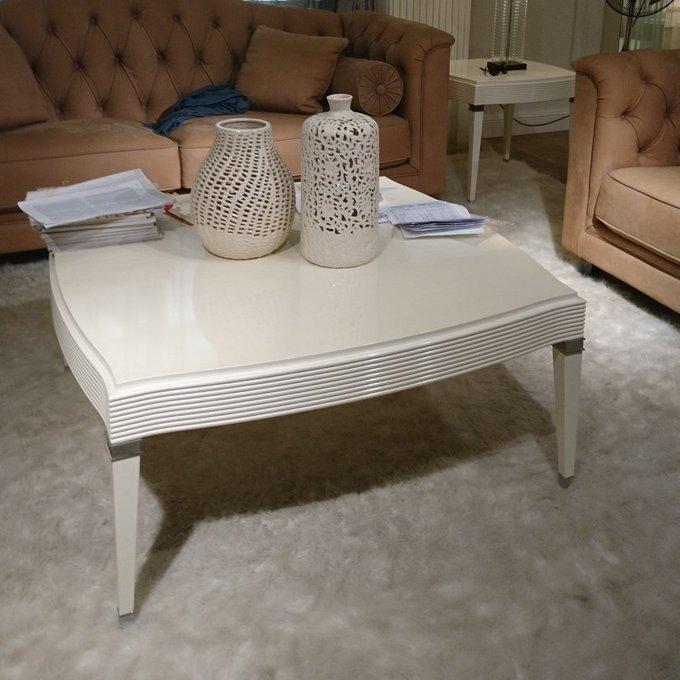 Журнальный столик Rimini белого цвета