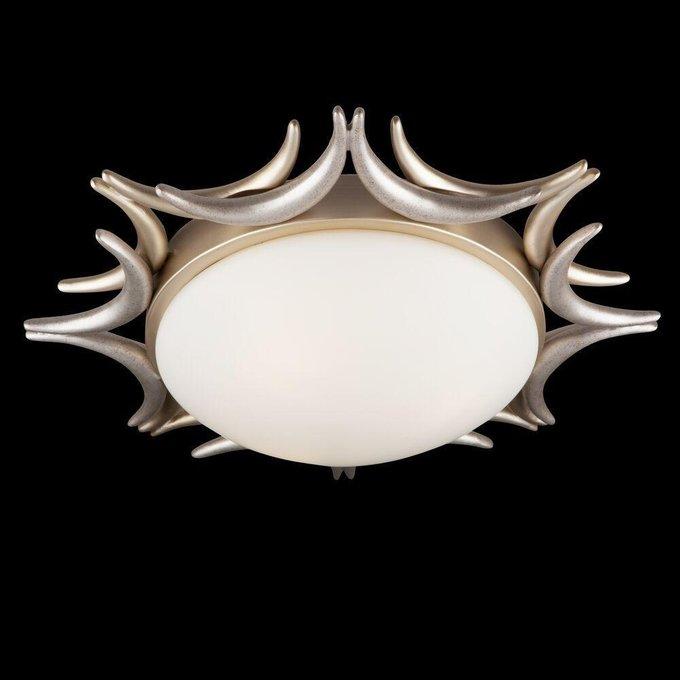 Потолочный светильник Cima с белым плафоном