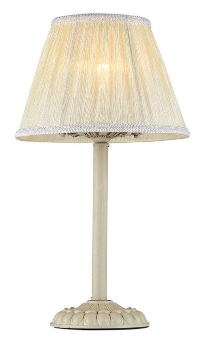 Настольная лампа Olivia с абажуром кремового цвета