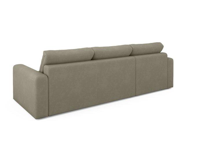 Угловой диван-кровать левый Ruiz бежево-коричневого цвета