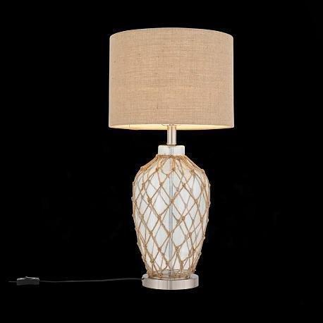 Настольная лампа Ampolla со стеклянными элементами