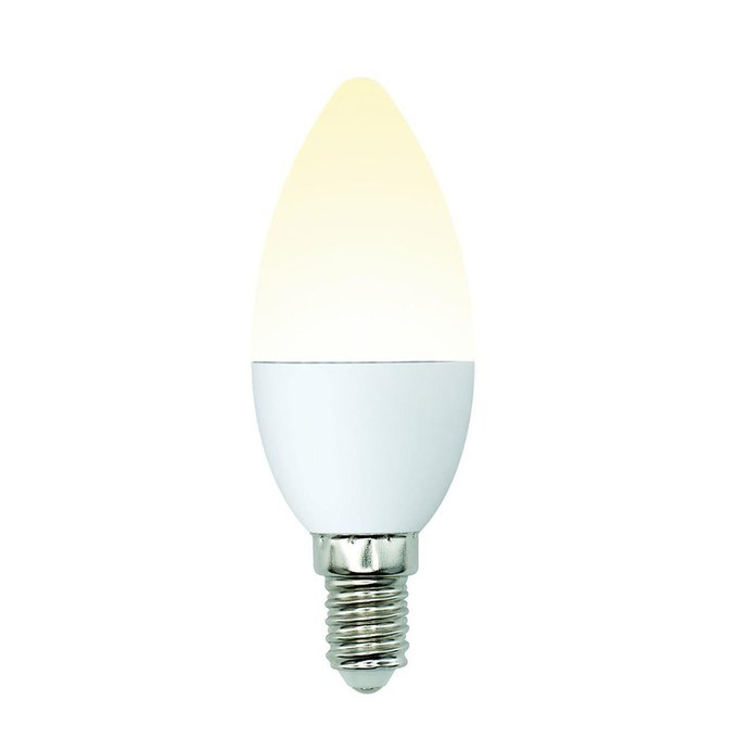 Лампа светодиодная Свеча матовая