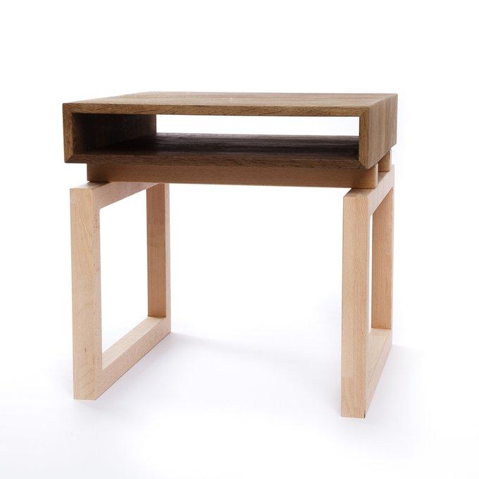 Стол со столешницей из мореного дуба