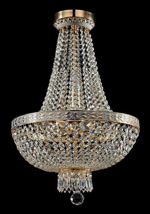 Подвесная люстра MAYTONI Bella с декоративным плафоном из хрусталя