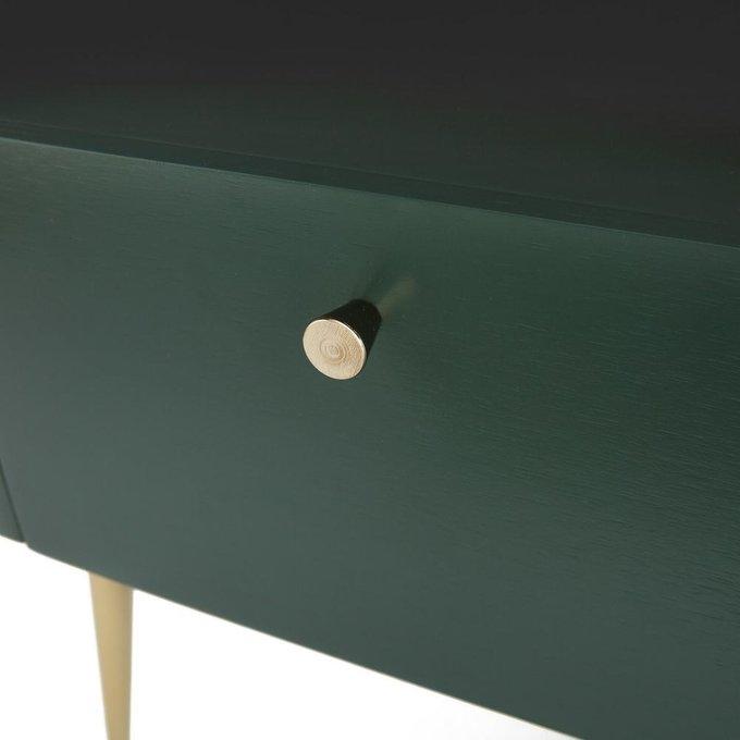 Тумба под телевизор Topim зеленого цвета