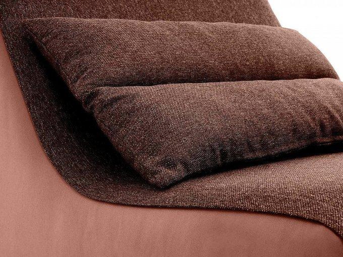 Кресло Neya темно-коричневого цвета