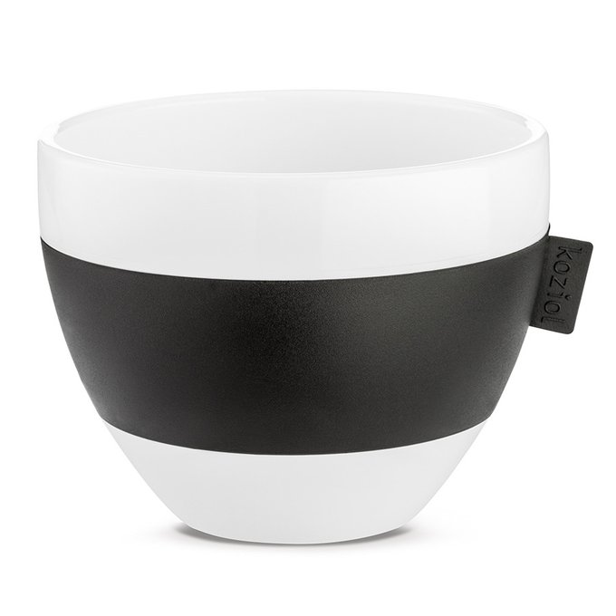 Чашка с термоэффектом Aroma чёрно-белого цвета