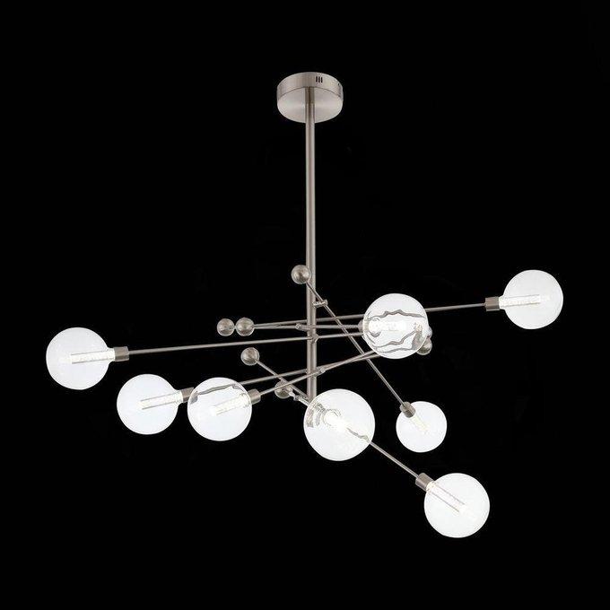 Подвесная светодиодная люстра Giacio с круглыми плафонами
