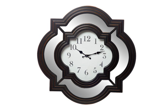 Часы настенные (черно-белые)