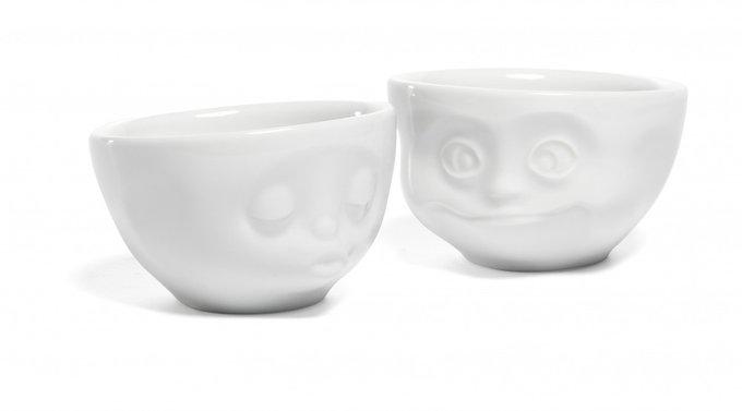 Набор из двух чашек Tassen «Мимика», любовь и счастье