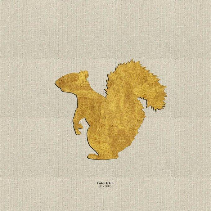 Картина (репродукция, постер): Сусликовая белка