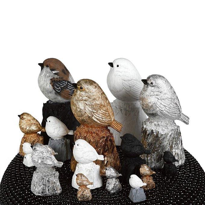 Статуэтка Sparrow серебристого цвета