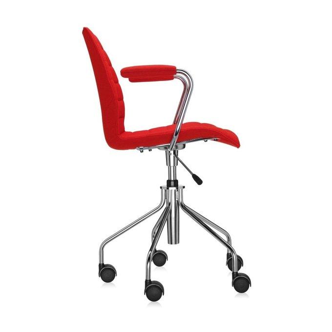 Офисный стул Maui Soft красного цвета