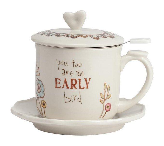 Чайный набор You Too Are An Early Bird