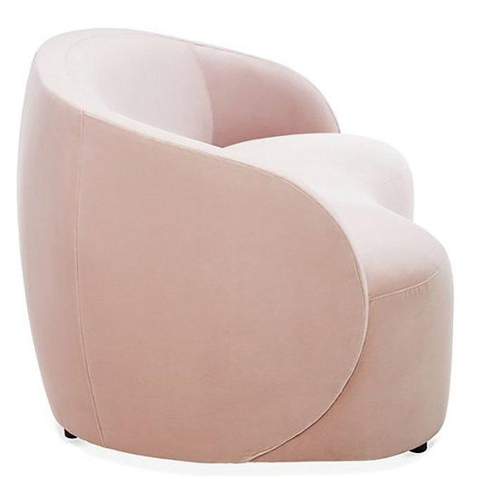 Диван Rondo Sofa Mauve розового цвета