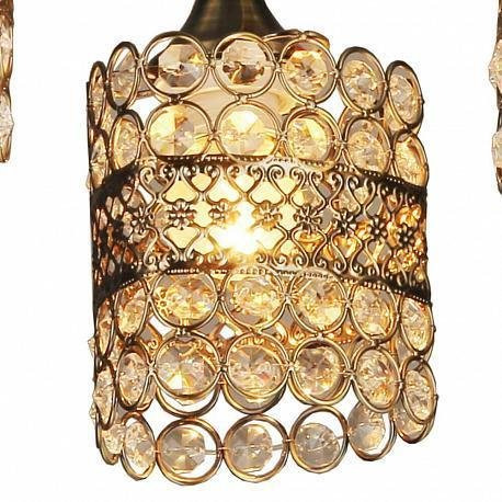 Потолочная люстра Миранда цвета античная бронза