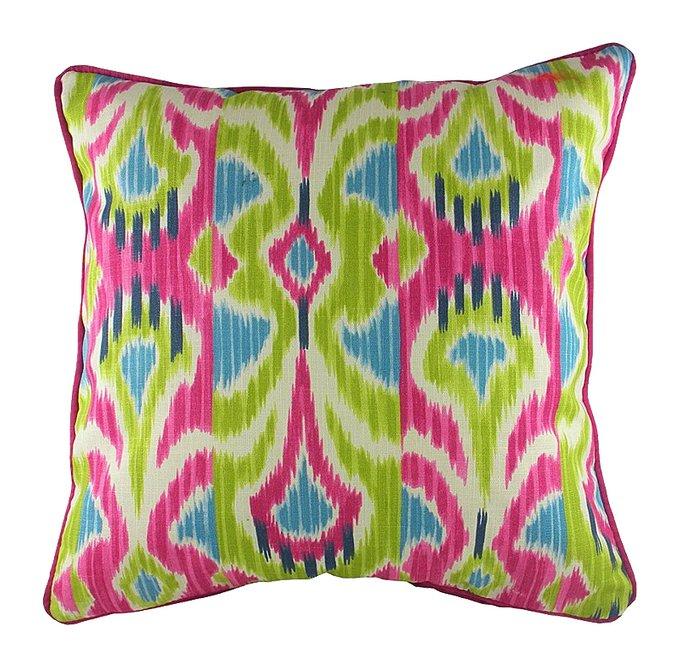 Подушка с орнаментом Lombok Sorbet