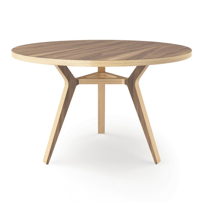 Стол Täby walnut 120 орех