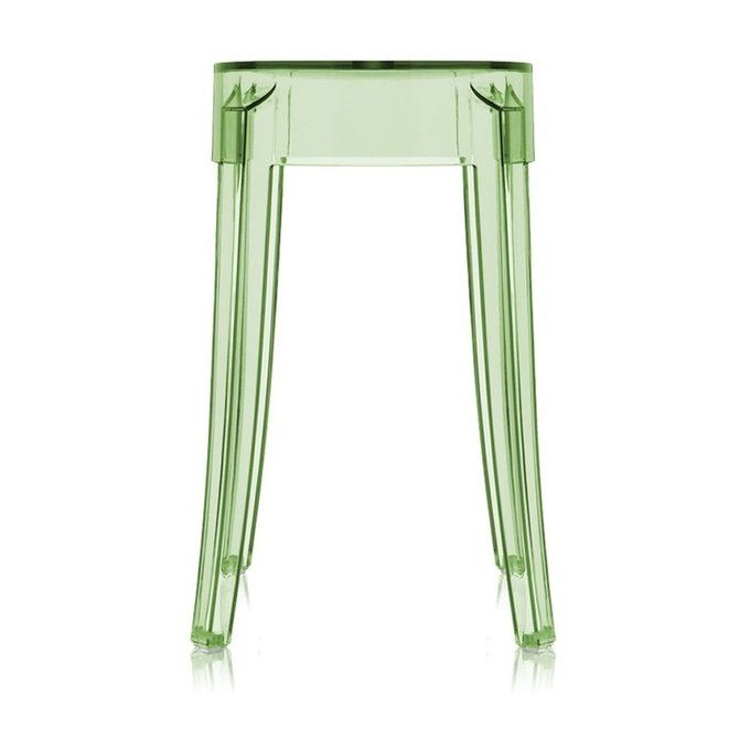 Табурет Charles Ghost зеленого цвета