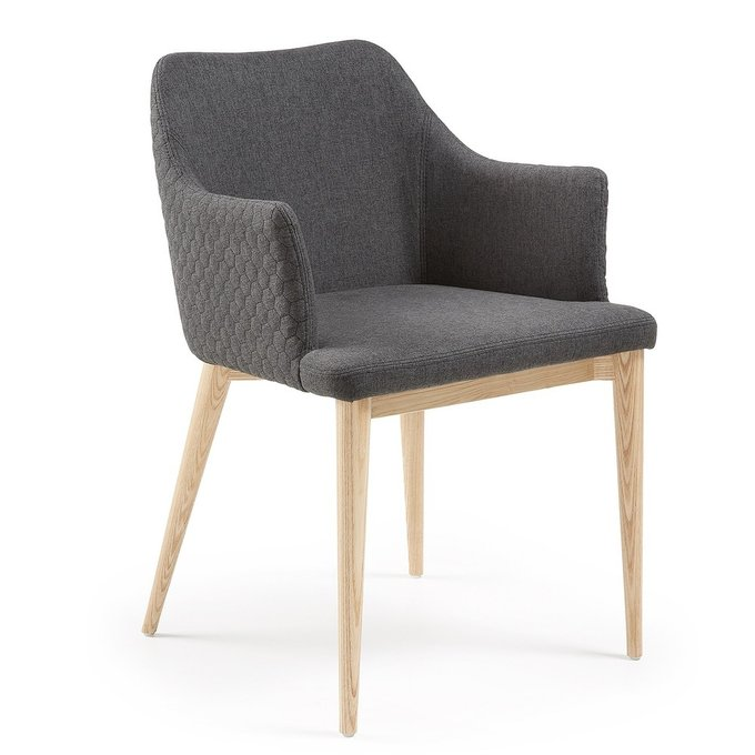 Обеденный стул Julia Grup Danai темно-серый