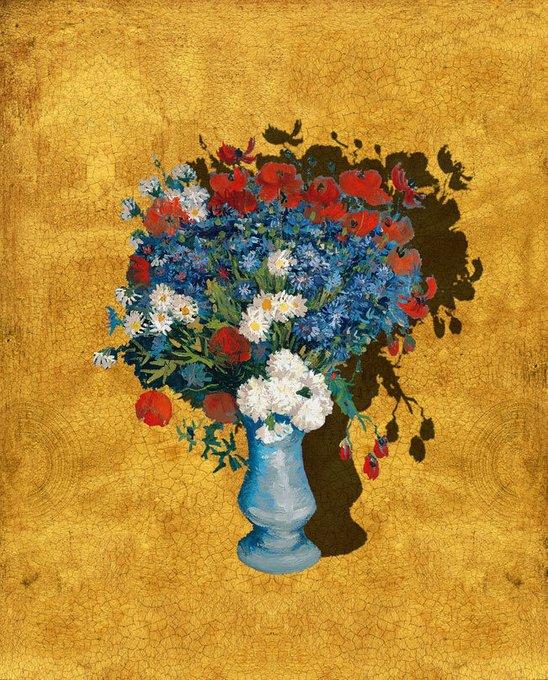 Картина (репродукция, постер): Ван Гог. Цветы