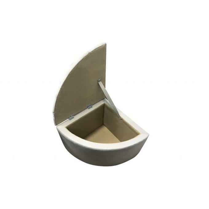 Пуф треугольный Бергамо с местом для хранения