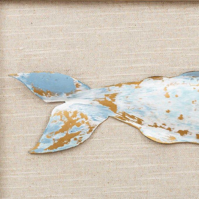 Декор настенный Рыба в раме