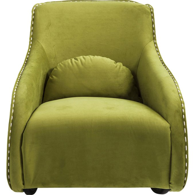 Кресло-качалка Ritmo зеленого цвета