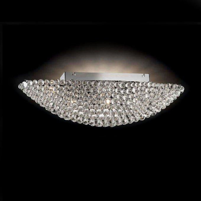 Потолочный светильник Illuminati с плафоном из стеклянных элементов