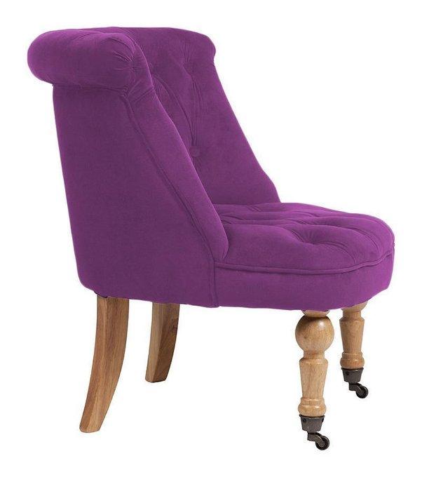 Кресло Amelie French Country Chair фиолетового цвета