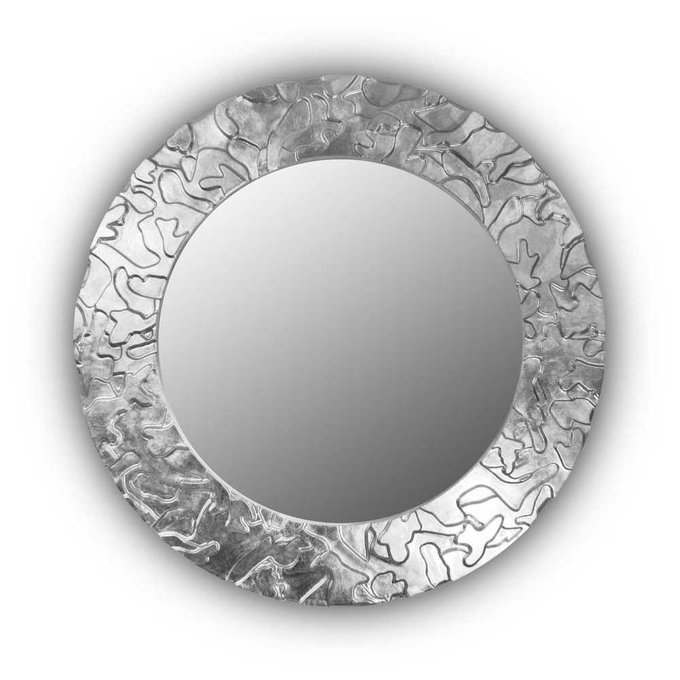 Настенное зеркало FASHION CAMOUFLAGE silver
