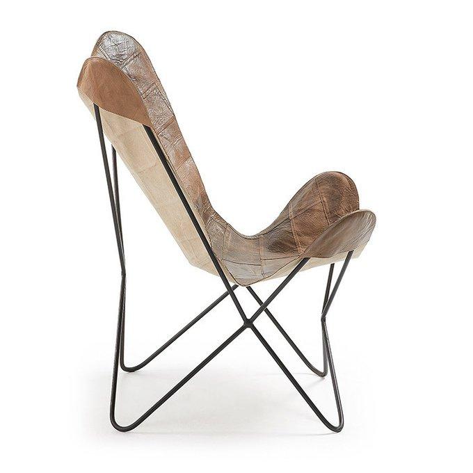 Кресло Julia Grup FLYNN коричневое