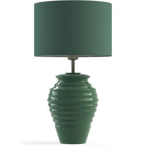 Настольная лампа Aquila темно-зеленая