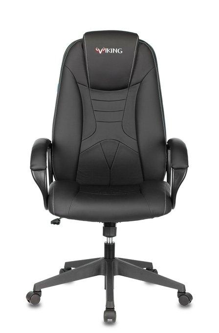 Кресло игровое Бюрократ черного цвета
