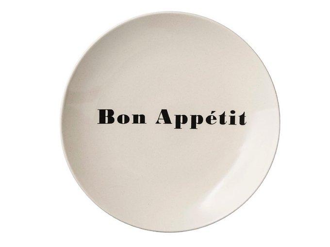 Тарелка Bon Appetit бежевого цвета