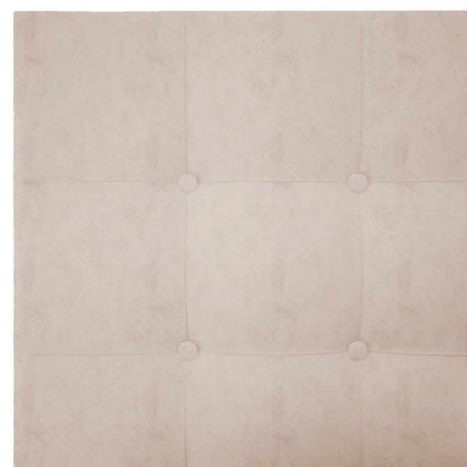 Кровать Royal Black Велюр Светло-бежевый 180х200