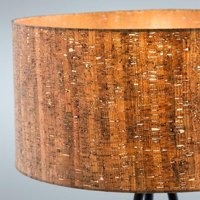 Торшер Shaden floor lamp с абажуром из пробки