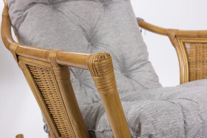 Кресло-качалка Canary с подушкой мед