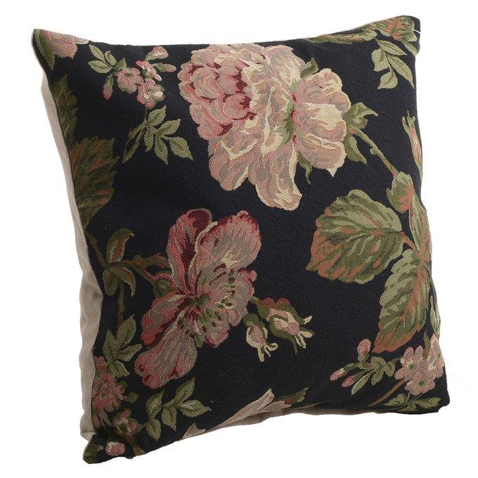 Декоративная подушка из полиэстера и хлопка