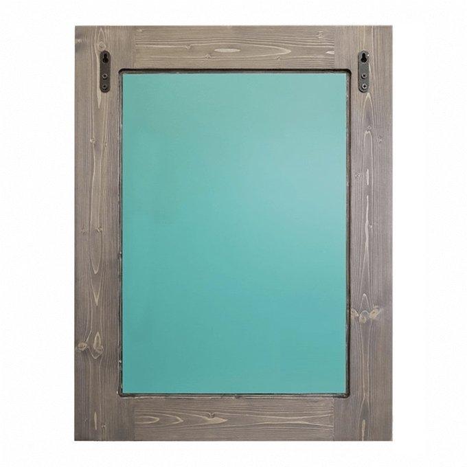 Настенное зеркало Сиреневый калейдоскоп 50х55
