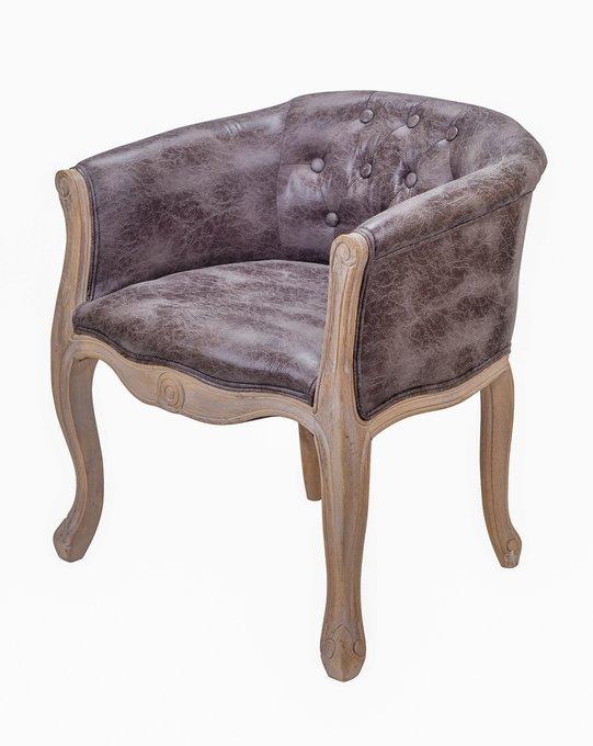 Кресло Kandy antique коричневого цвета