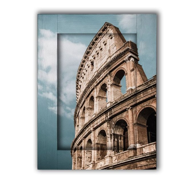 Картина с арт рамой Колизей 60х80