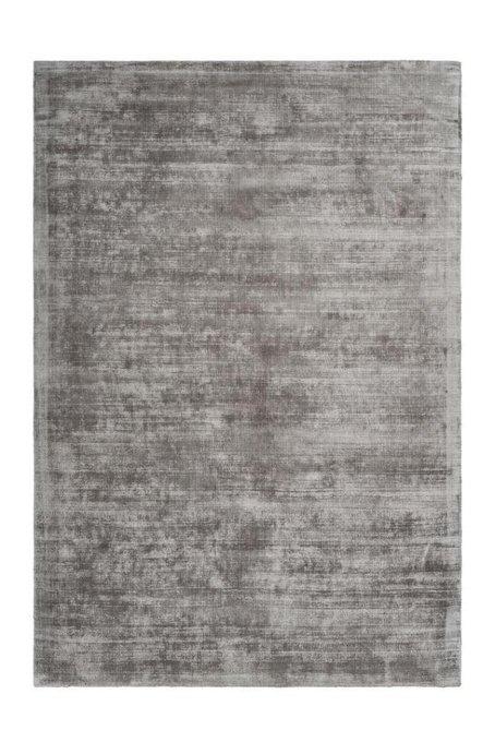 Однотонный ковер Premium серого цвета 120х170