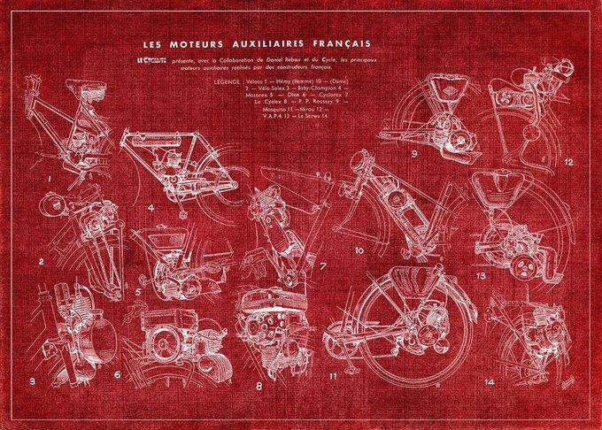 """Картина """"Французские велосипеды"""""""