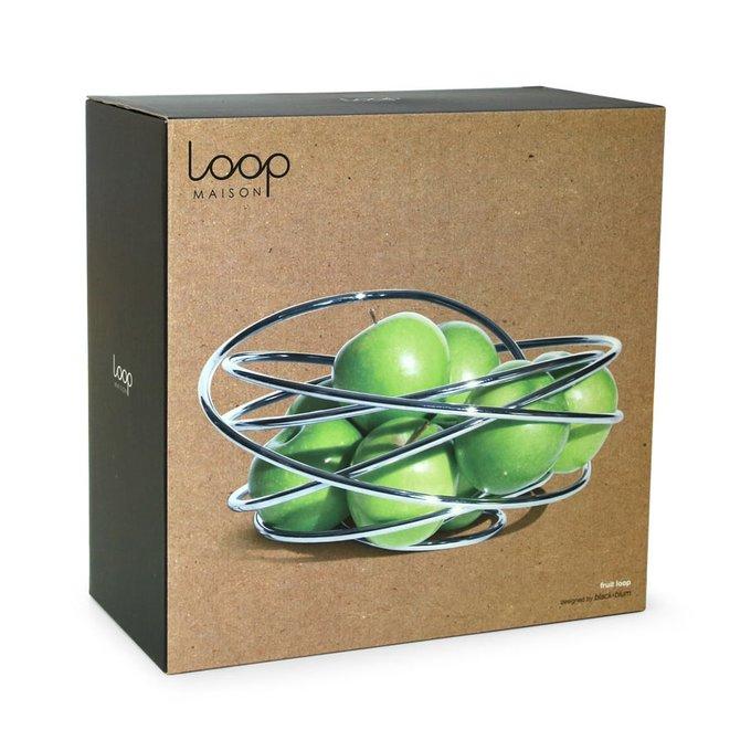 Ваза для фруктов Black+Blum loop