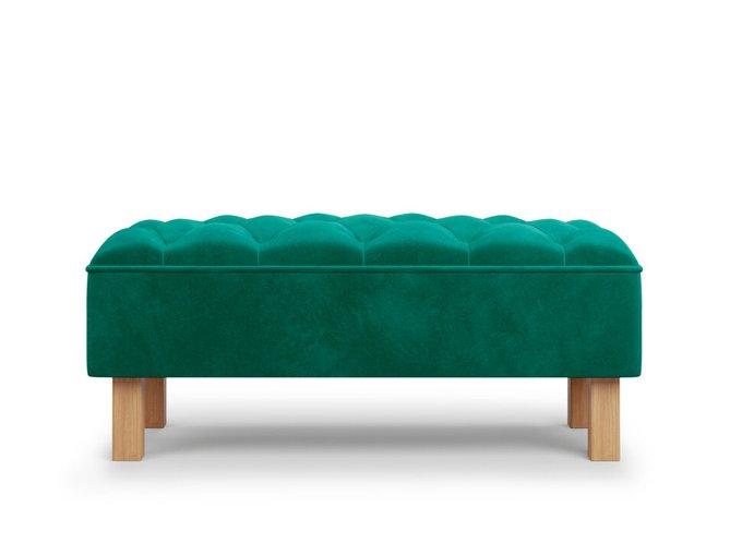 Банкетка Agat зеленого цвета