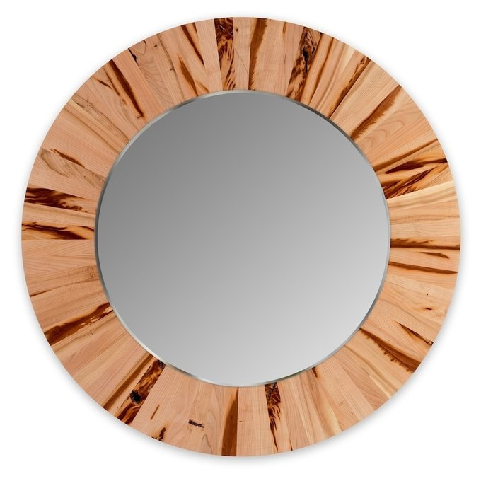 Зеркало настенное абрикос
