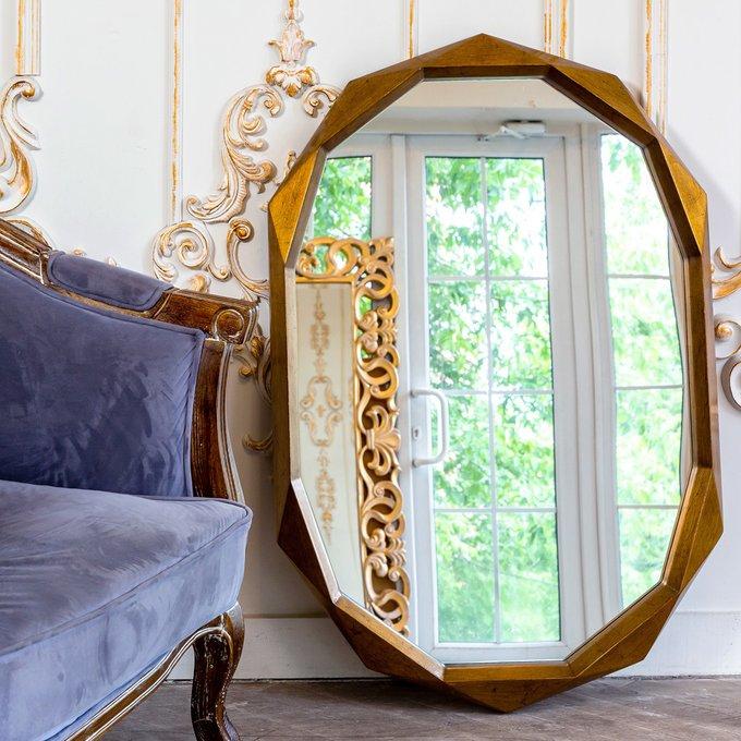 Настенное зеркало Осирис в раме из полиуретана