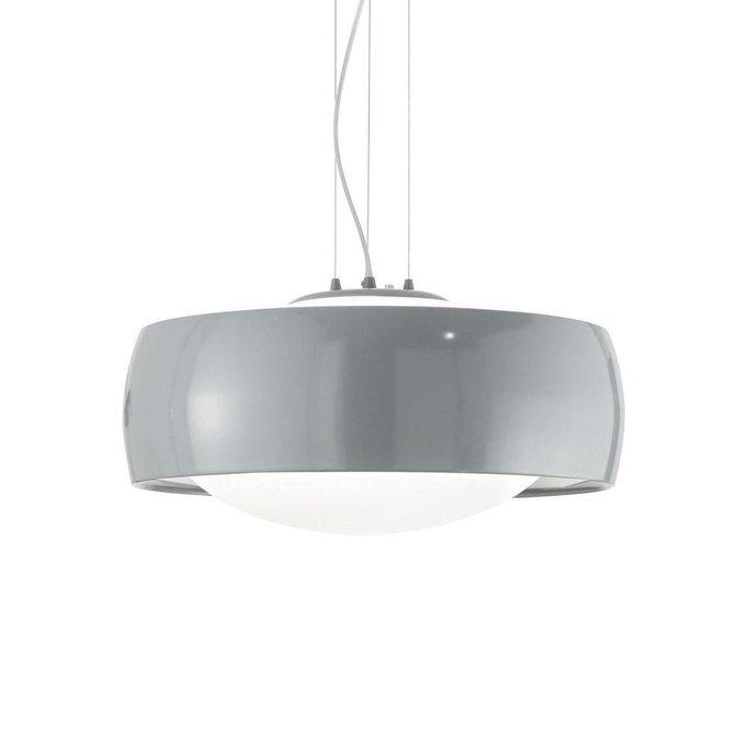 Подвесной светильник Comfort SP1 Grigio с белым плафоном
